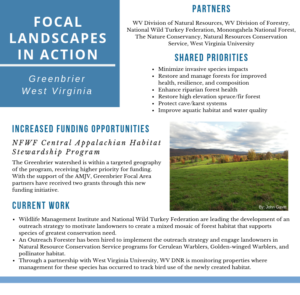 WV Focal Landscape Example
